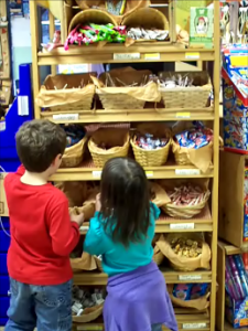 It's what kids want-candy and treats at Jeff's Country Goods and Groceries of East Wakefield