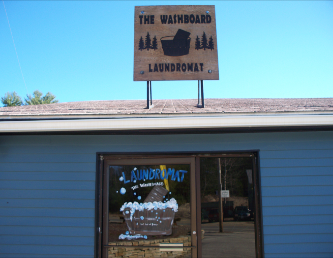 The Washboard Laundromat-Wash and Dry Your laundry while you lunch