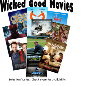 DVD Movies for Rent or to Buy at Country Goods & Groceries of East Wakefield, NH