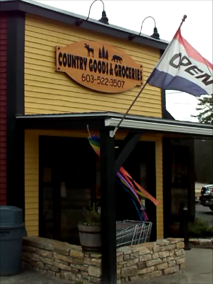 Country Goods & Groceries of East Wakefield NH is Open For You