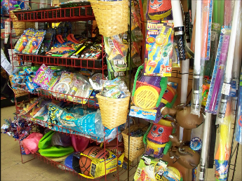 Toys for the Kids at East Wakefield Country Goods and Grocery