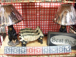 Bear Lamps Coat Racks and Wall Decor