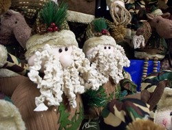 Santa for the Cabin at Country Goods of East Wakefield New Hampshire